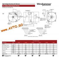 AMETEK 117643 Турбина Windjammer 117643-00