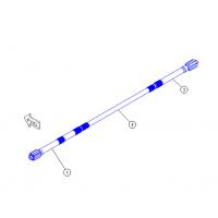 Вал Caterpillar 3W-6551,3T-5851 на бульдозеры CATERPILLAR D6R и CATERPILLAR D6T