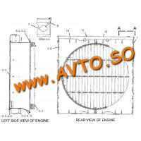 Радиатор CATERPILLAR 3516