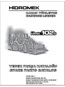 КАТАЛОГ ЗАПЧАСТЕЙ НА HIDROMEK PDF