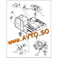 F25/11228 Радиатор охлаждения двигателя Hidromek
