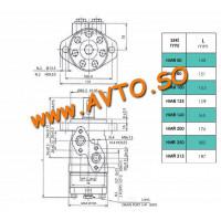 HMR 100A2 Мотор гидравлический