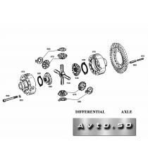 Корпус дифференциала ZF 4461.273.004 DIFFERENTIAL CASE ZF AP-R745