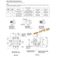 Parker PAVC33,PAVC38,PAVC65,PAVC100 аксиальные насосы