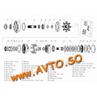Poclain MS08-9-12A-A08-1120-5DEJM0 Гидравлический мотор
