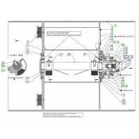 Гидромотор на двухвальцевый дорожный каток HAMM HD 140 2042187