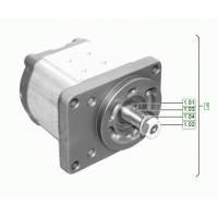 Гидромотор на сочлененный тандемный каток Hamm 1251570