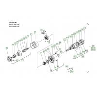 Гидромотор на сочлененный тандемный каток Hamm HD 90 1286986