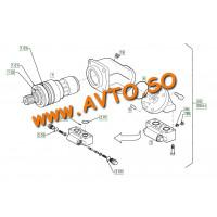 Гидромотор вибратора HAMM 1293060 HAMM 3412, 3414, 3516, 3518, 3520