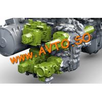 Гидромотор Vogele 2075253 Асфальтоукладчик Vogele 1600, Vogele 1800