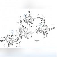 VOE 11061473 VOLVO A30, A30C, A35 Гидравлический насос